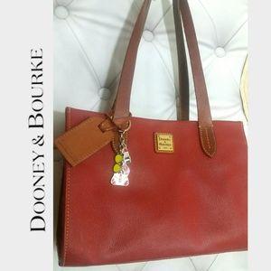 Authentic Doney & Bourke Satchel handbag keychain